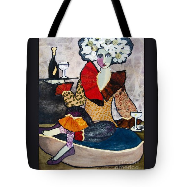 Cocktails, Anyone? Tote Bag