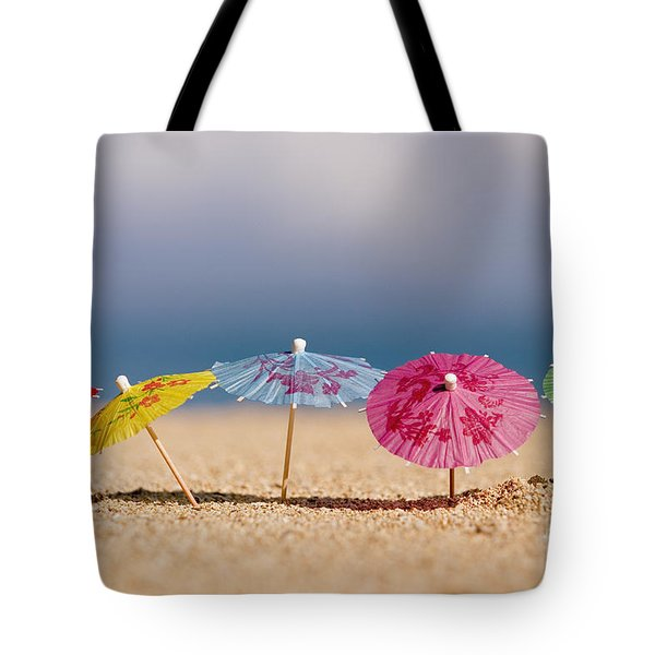Cocktails In The Sand Tote Bag