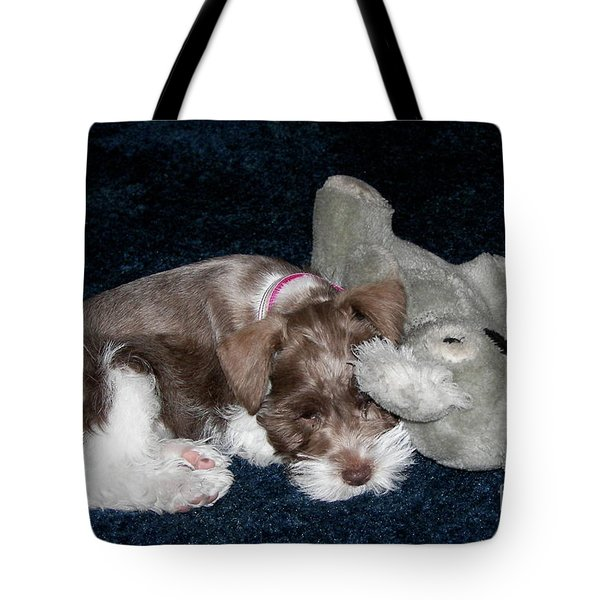 Tote Bag featuring the photograph Coco And Baby by Carol  Bradley