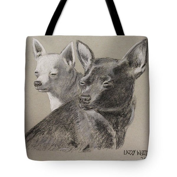 Coco And Rudy Tote Bag