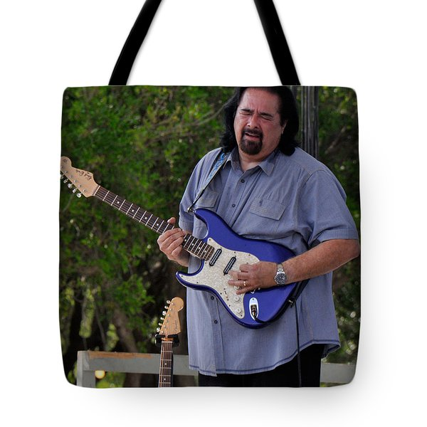 Coco Montoya And His Ocean Blue Fender American Standard Stratoc Tote Bag