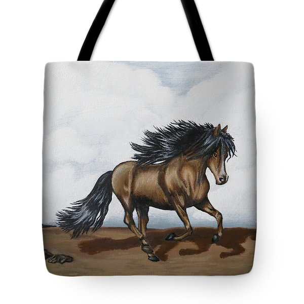 Tote Bag featuring the painting Coco by Teresa Wing