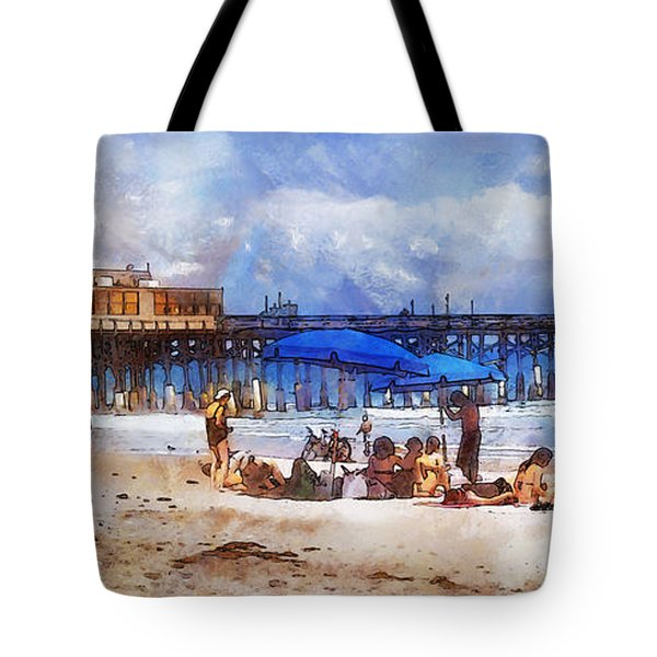 Cocoa Beach Pier Tote Bag