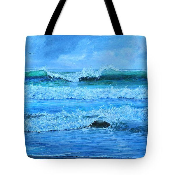 Cocoa Beach Surf Tote Bag
