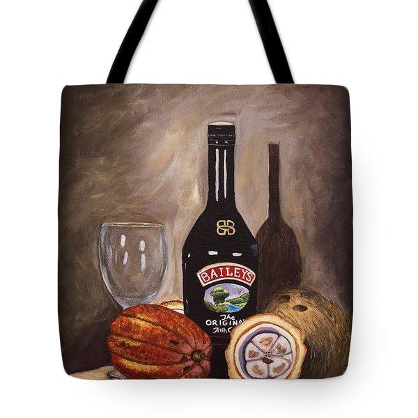 Cocoa Pods Coconut And Irish Cream Tote Bag by Laura Forde