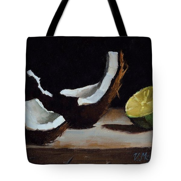 Coconut And Lime Tote Bag