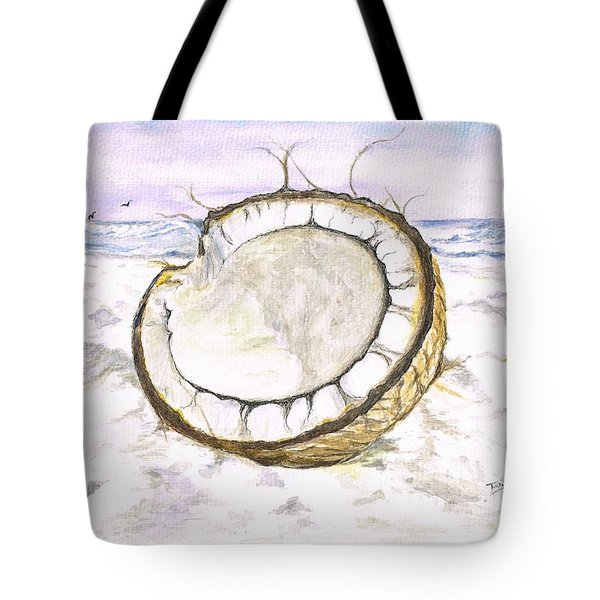 Coconut Island Tote Bag
