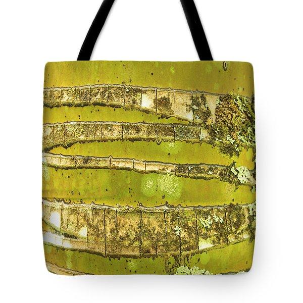 Coconut Palm Bark 1 Tote Bag by Brandon Tabiolo - Printscapes