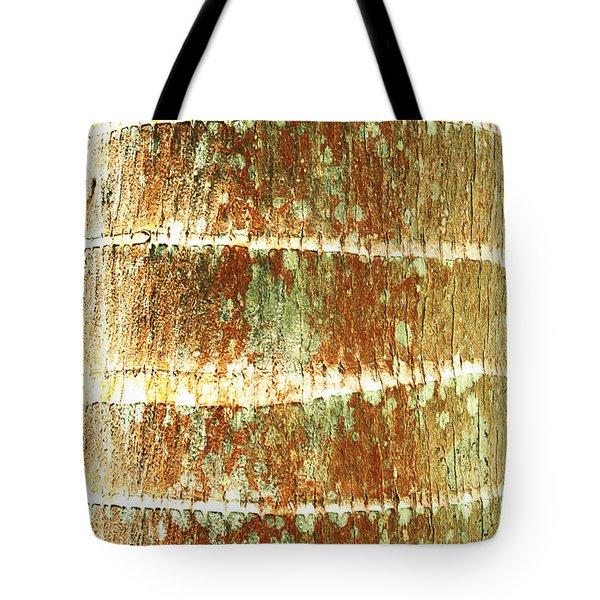 Coconut Palm Bark 2 Tote Bag by Brandon Tabiolo - Printscapes