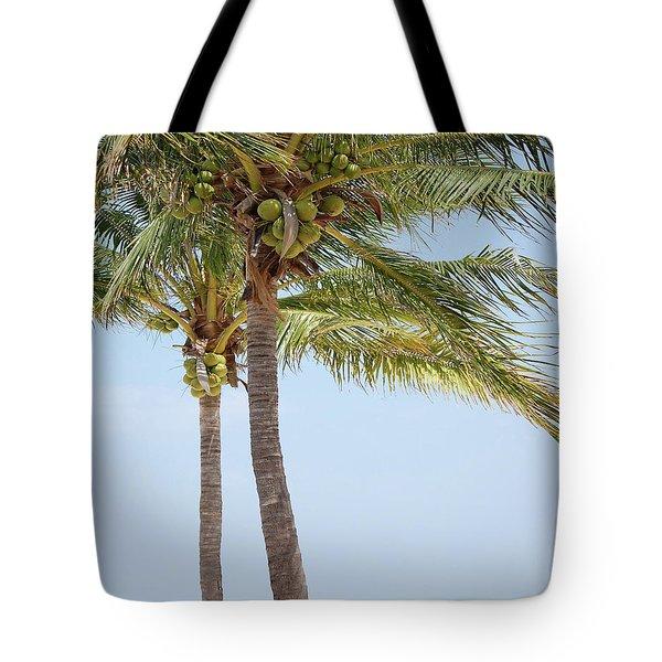 Coconut Palm Tango Tote Bag