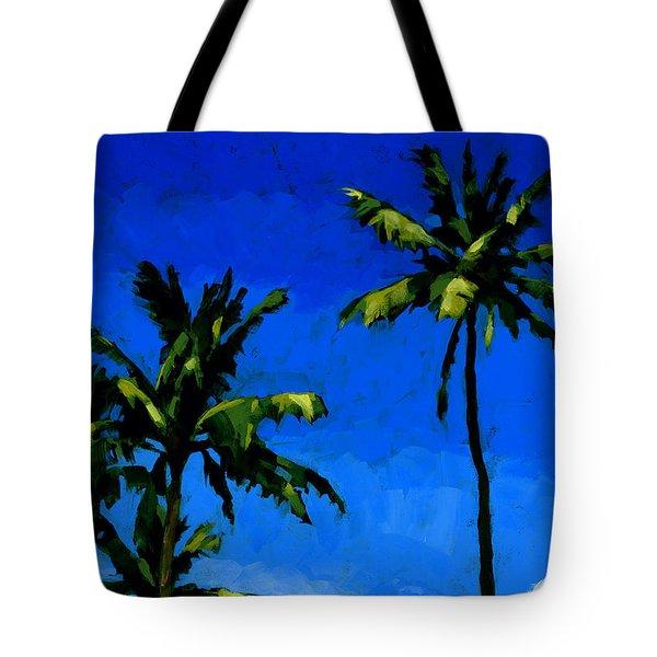 Coconut Palms 5 Tote Bag