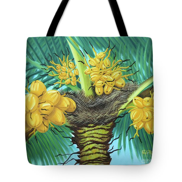 Coconut Palms Tote Bag