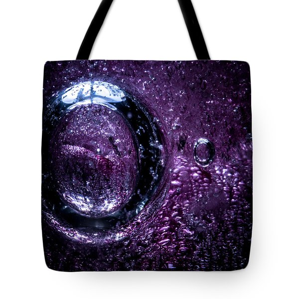 Tote Bag featuring the photograph Cocoon by Eric Christopher Jackson