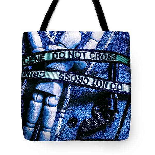 Code Blue Csi Tote Bag
