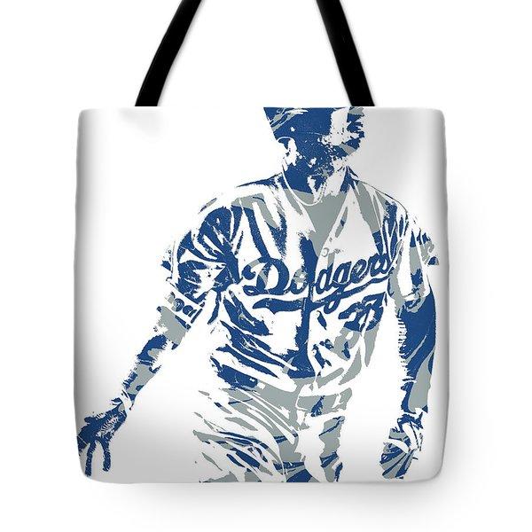 Cody Bellinger Los Angeles Dodgers Pixel Art 20 Tote Bag
