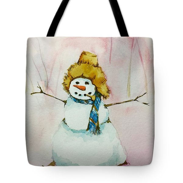 Cody's First Frosty Tote Bag