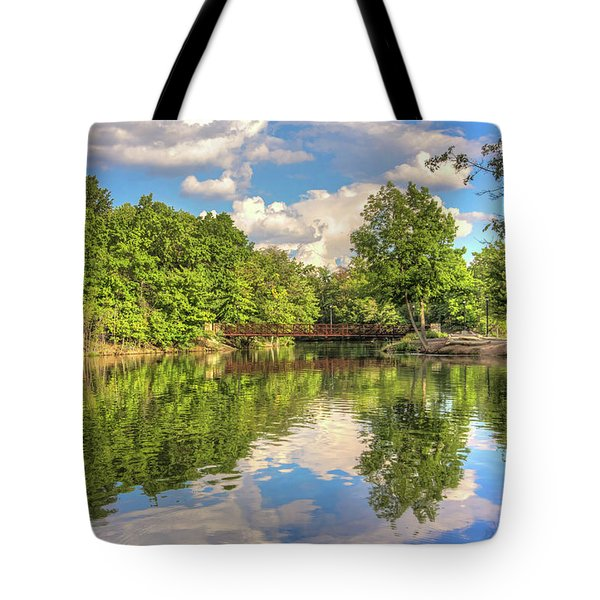 Coe Lake Tote Bag by Brent Durken