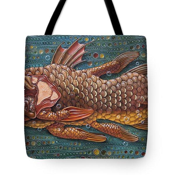 Coelacanth Tote Bag