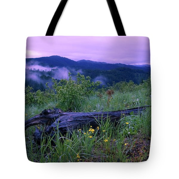 Coeur D'alene Mountains Tote Bag by Idaho Scenic Images Linda Lantzy