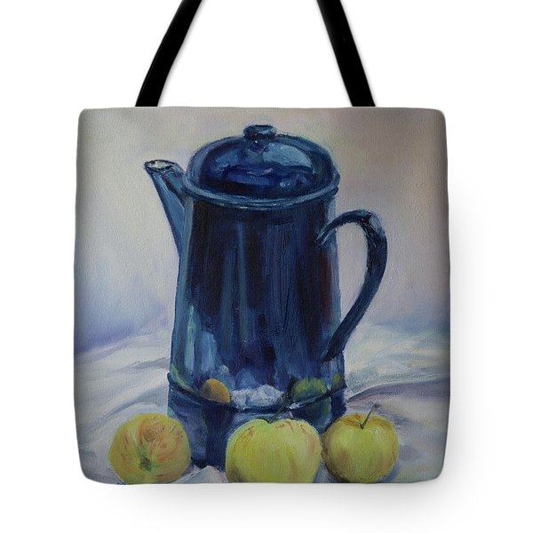 Coffee And Apples Tote Bag