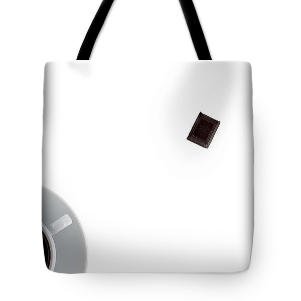 Tote Bag featuring the photograph Coffee And Chocolade by Gert Lavsen