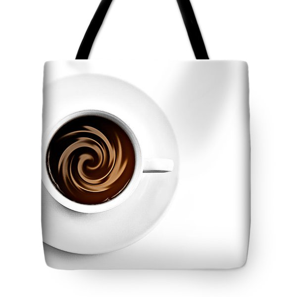 Tote Bag featuring the photograph Coffee And Cream by Gert Lavsen