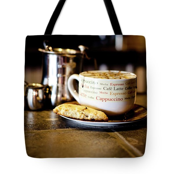 Coffee Bar Tote Bag