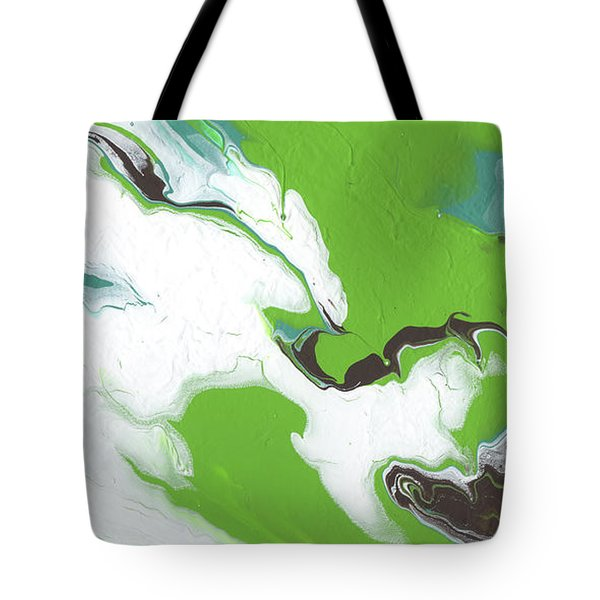 Coffee Bean 1- Abstract Art By Linda Woods Tote Bag