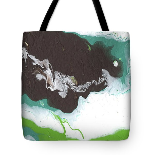 Coffee Bean 2- Abstract Art By Linda Woods Tote Bag