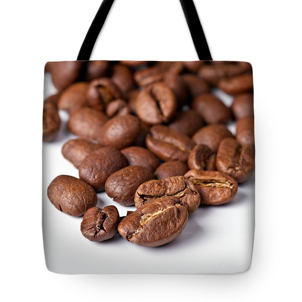 Tote Bag featuring the photograph Coffee Beans by Gert Lavsen