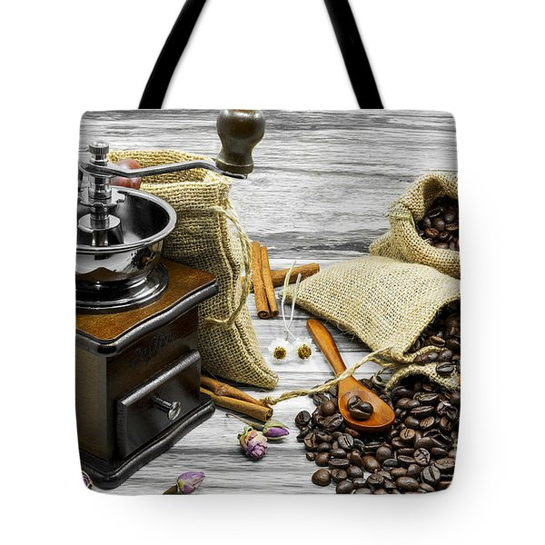 Coffee Beans Still Life Tote Bag