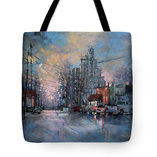 Coffee Before Work Tote Bag