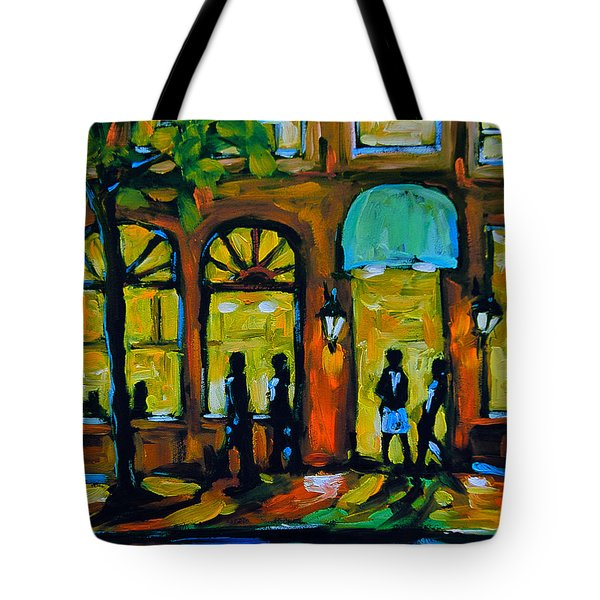 Coffee Break Cafe Tote Bag
