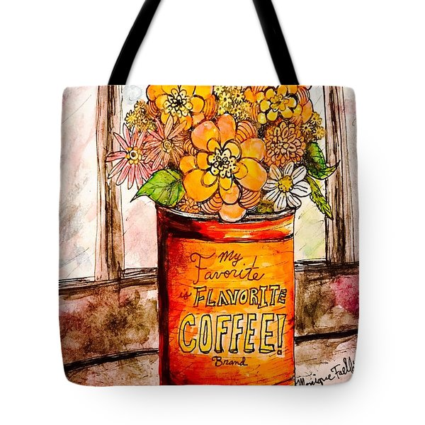 Coffee Can Bouquet  Tote Bag
