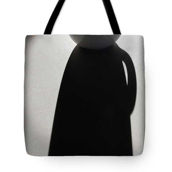 Coffee Cup Shadow Tote Bag
