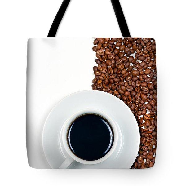 Coffee Tote Bag by Gert Lavsen