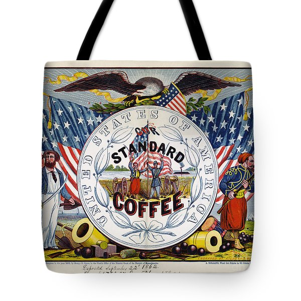 Coffee Label, C1862 Tote Bag by Granger