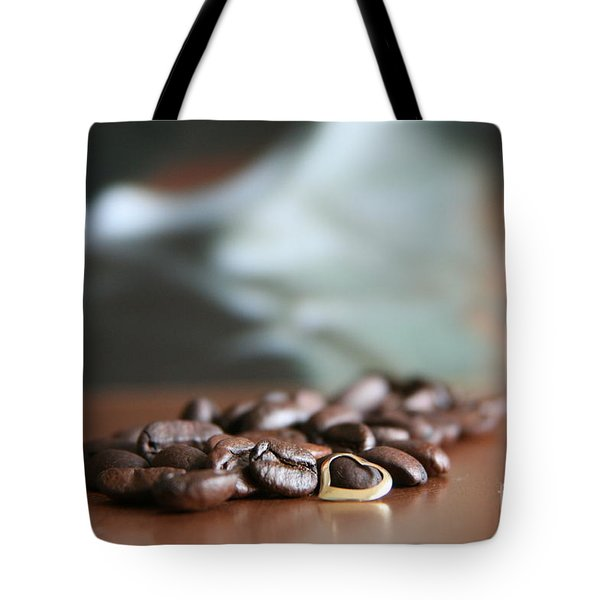 Coffee Lover  Tote Bag by Lynn England