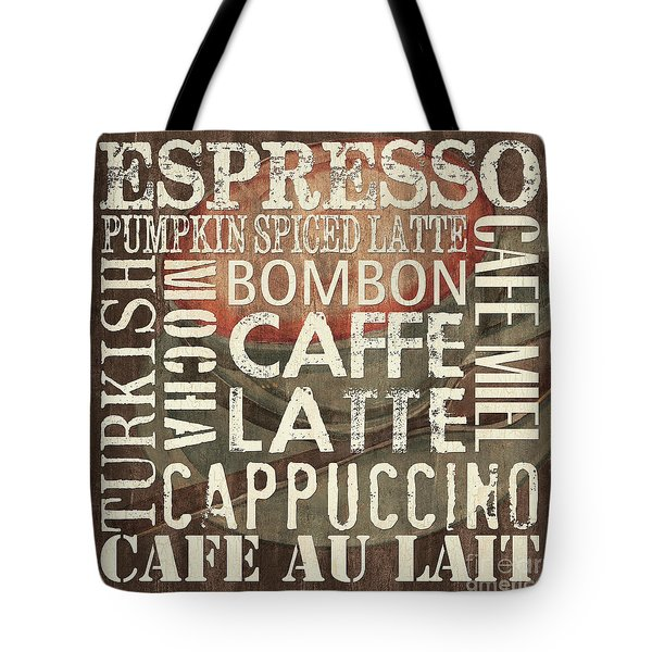 Coffee Of The Day 2 Tote Bag