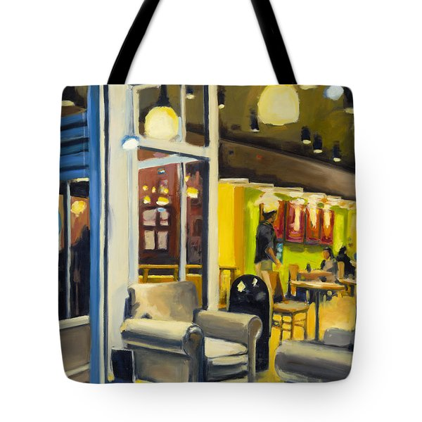Coffee On 5th Ave Tote Bag