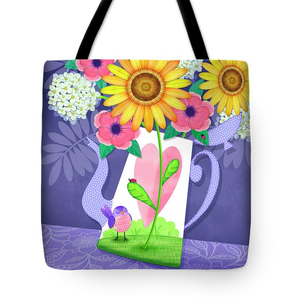 Coffee Pot Surprise Tote Bag
