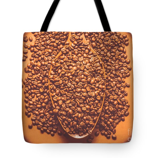 Coffee Service At The Old General Store Tote Bag
