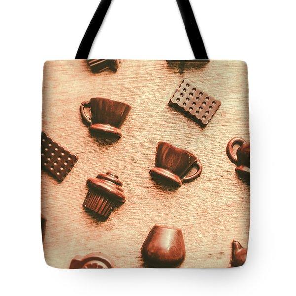 Coffee Shop Iconography  Tote Bag