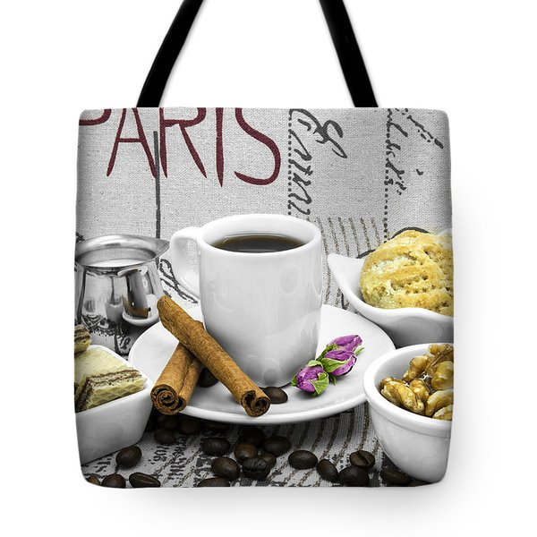 Coffee Still Life Tote Bag