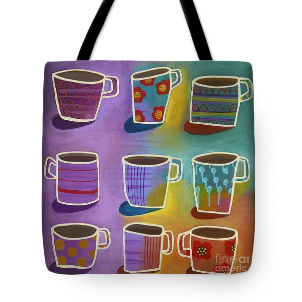 Coffee Time Tote Bag by Carla Bank
