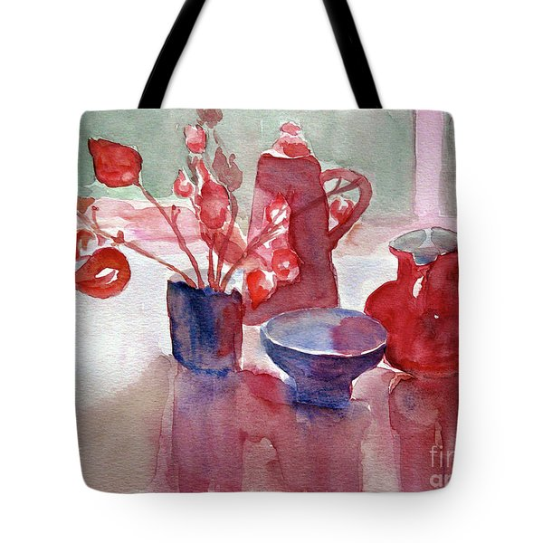 Coffee Time Tote Bag by Jasna Dragun