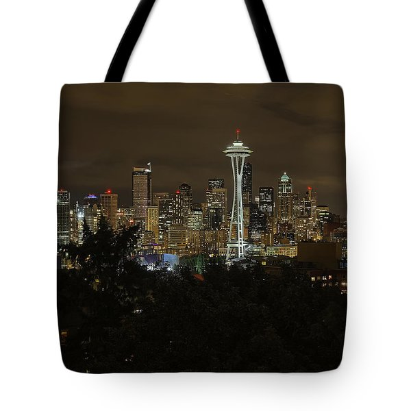 Coffee Town Tote Bag