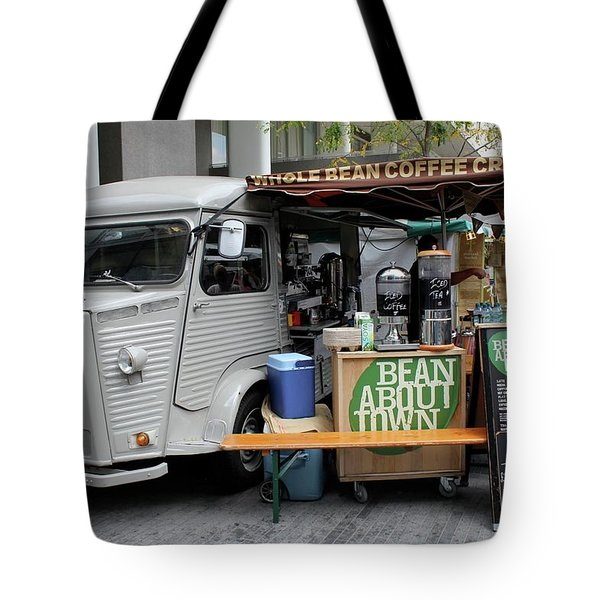 Coffee Truck Tote Bag by Christin Brodie