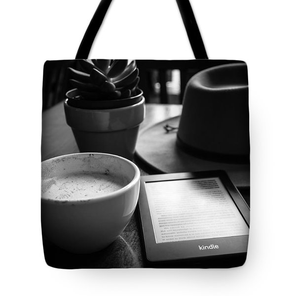 Tote Bag featuring the photograph Coffeehouse Lifestyle by Monte Stevens