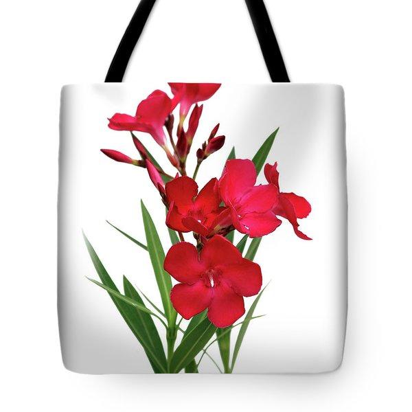 Cog  Nerium Oleander Emile Sahut Tote Bag